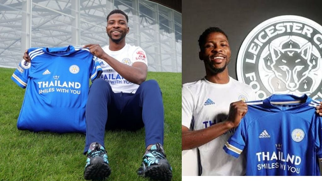 Kelechi Iheanacho signs new four year contract at Leicester City worth £100,000 (N52.6m) per week