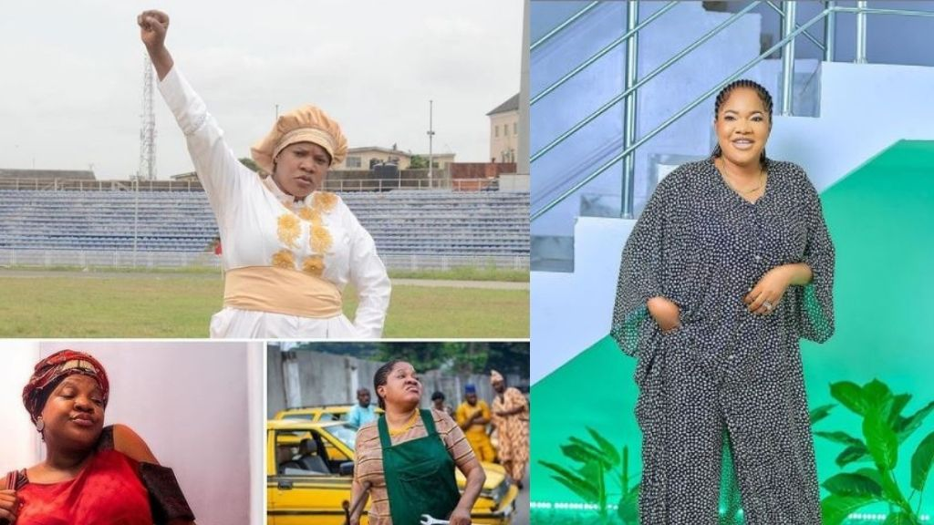 """Who de shout_"" – Toyin Abraham reacts as 'Prophetess' makes over N43M in opening weekend"