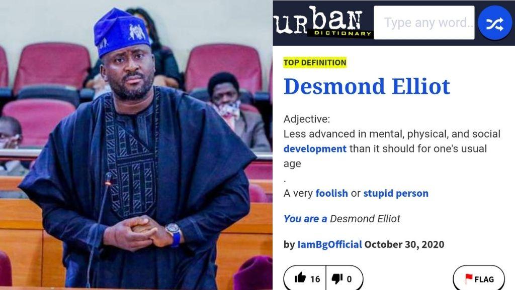 Desmond Elliot Dictionary