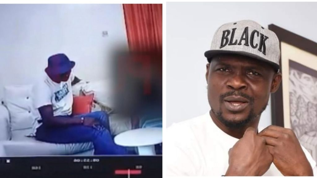 Watch CCTV footage of Baba Ijesha molesting 14-Year-old girl (Full Video)