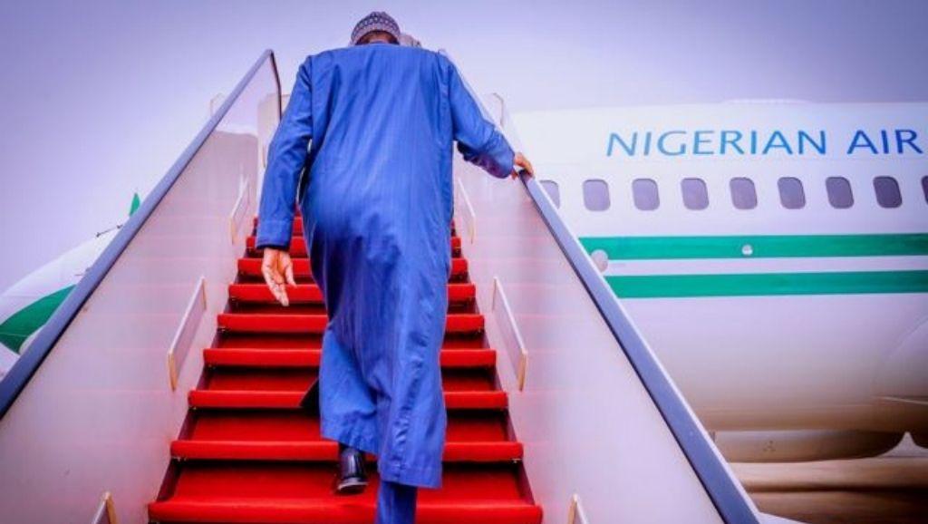 Buhari sets for London