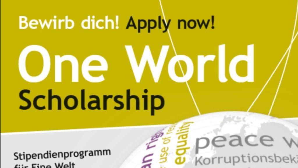 One World Scholarship (OWS) Programme