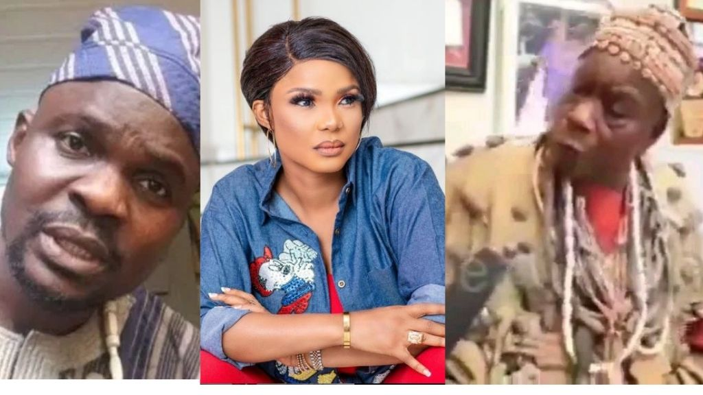Actress Iyabo Ojo reacts after an herbalist said she will suffer and die  over the Baba Ijesha r*pe case (Video)   Intel Region
