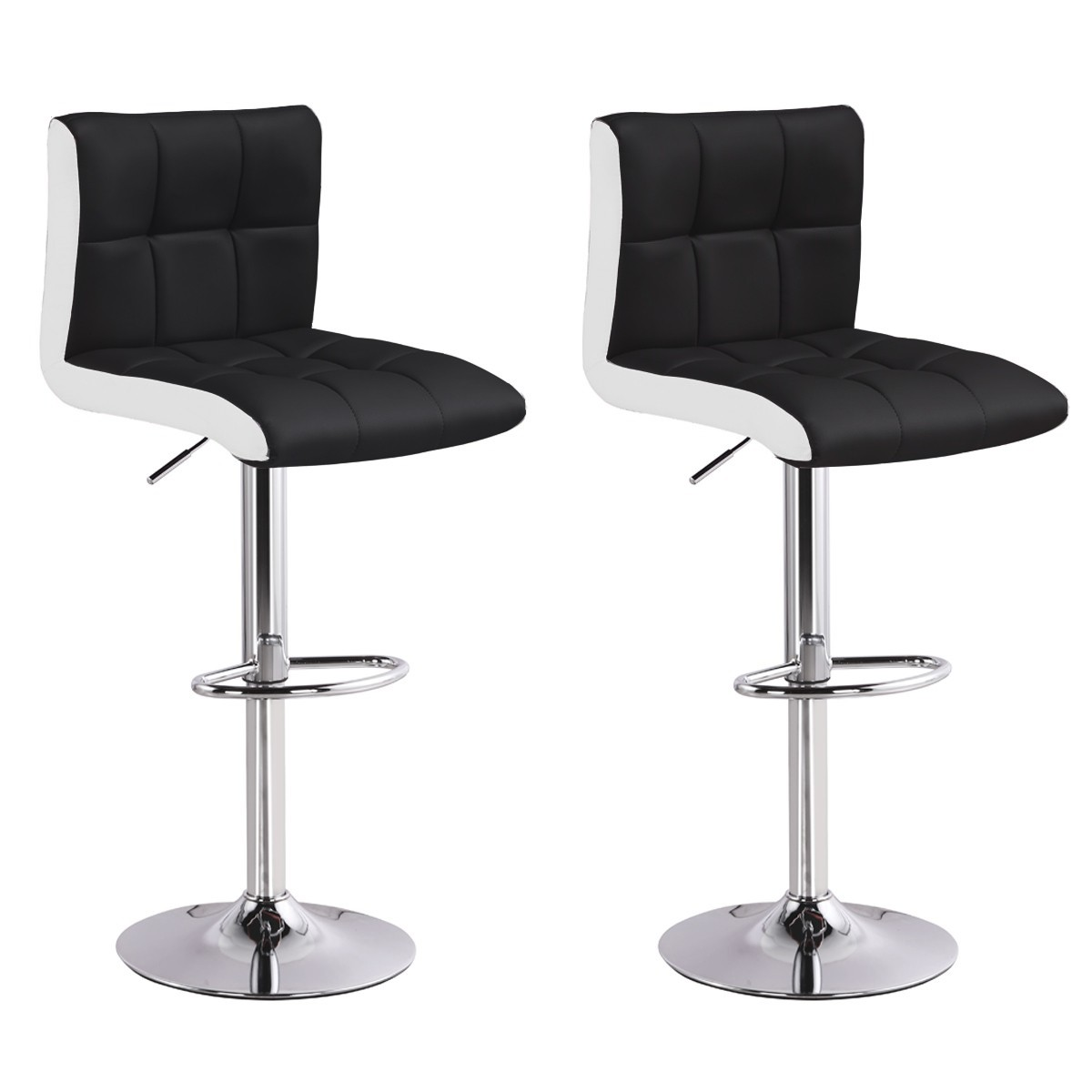 Lot De 2 Tabourets De Bar Magic Noir