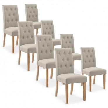 chaise design beige pas cher pour salle