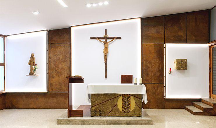Reforma de capilla. Arquitectura singular.