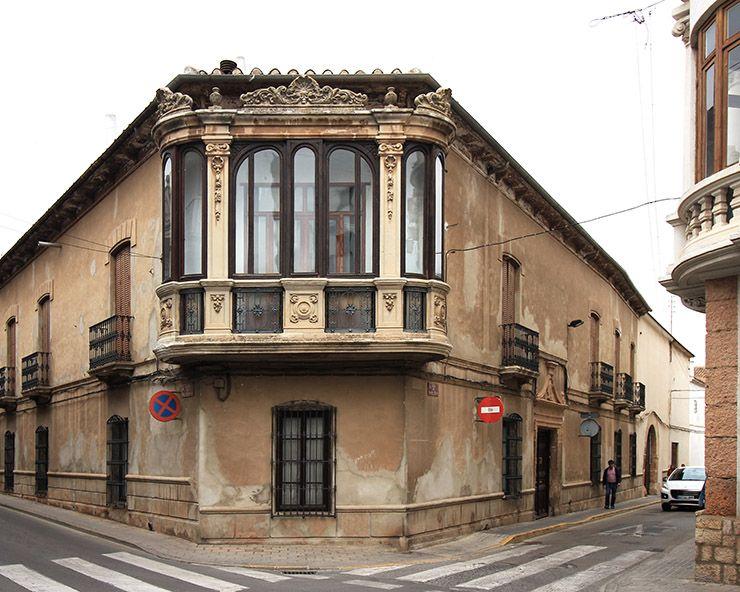 Balconada barroca de la casa de los Romero-Romero.