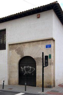 Portada original de la Posada del Rosario de Albacete.