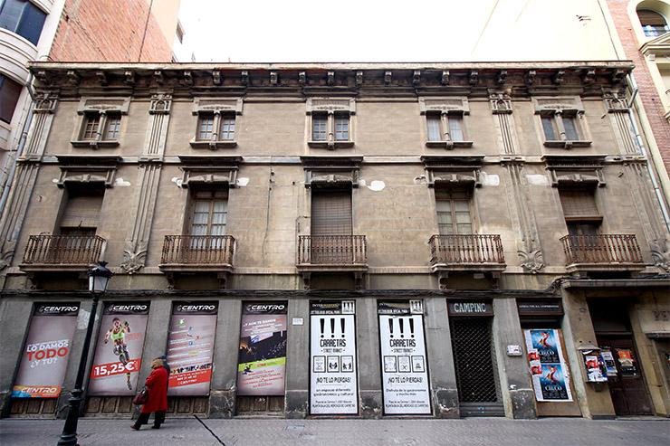 Casa de Ramón Casas Massó en la Calle Ancha de Albacete.