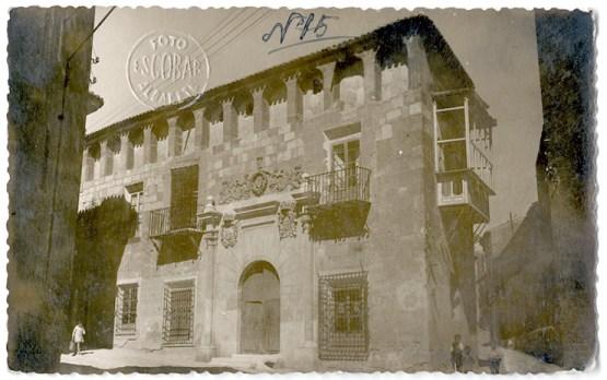 Palacio de Núñez Cortés (1930). Fotografía de Luis Escobar López.
