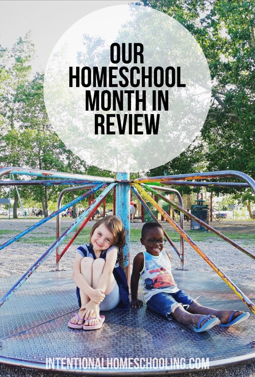 Our Homeschool Month - June in Review - an overview of what we did in each subject!