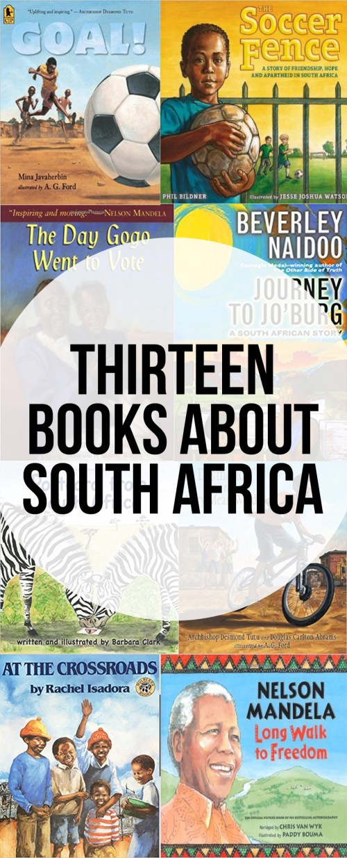 13 Kids Books About South Africa - picture books and educational books