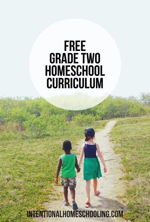 Free Grade Two Homeschool Curriculum - Minimalist Charlotte Mason style with a bit of Unschooling