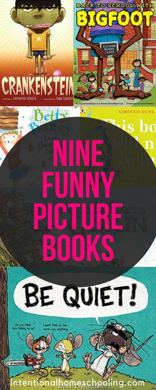 A list of funny picture books that will have kids (and you!) laughing out loud!