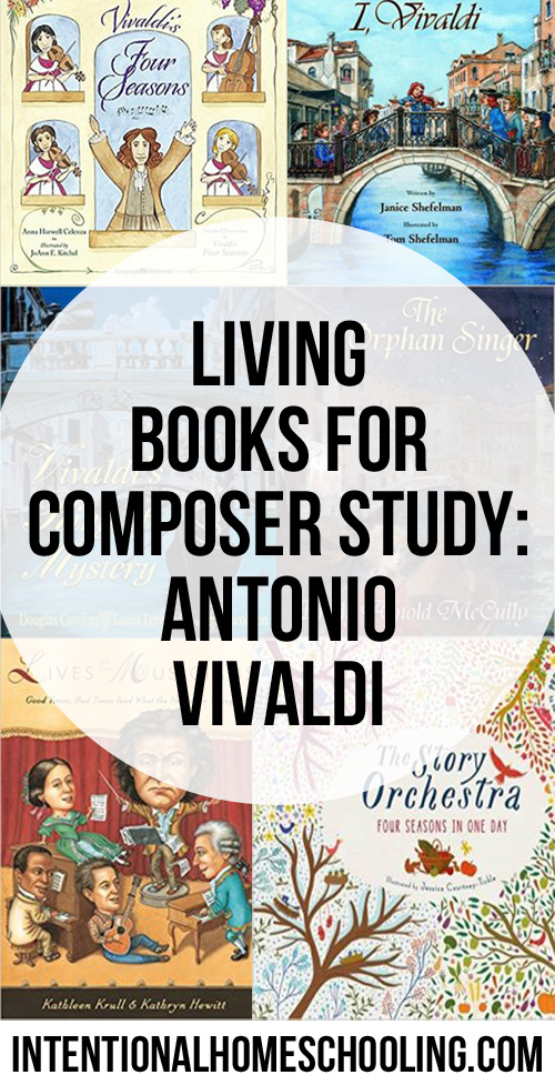 Living Books for Composer Study: Antonio Vivaldi