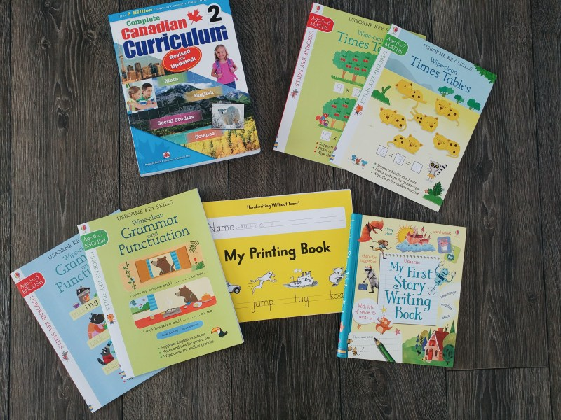 Our Daily Homeschool Resources - grade two books