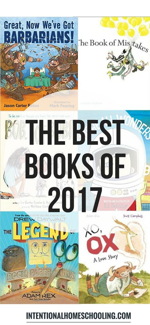 The Best Picture Books of 2017! This year had a lot of great picture books, including a lot of funny ones, here are our favorites!