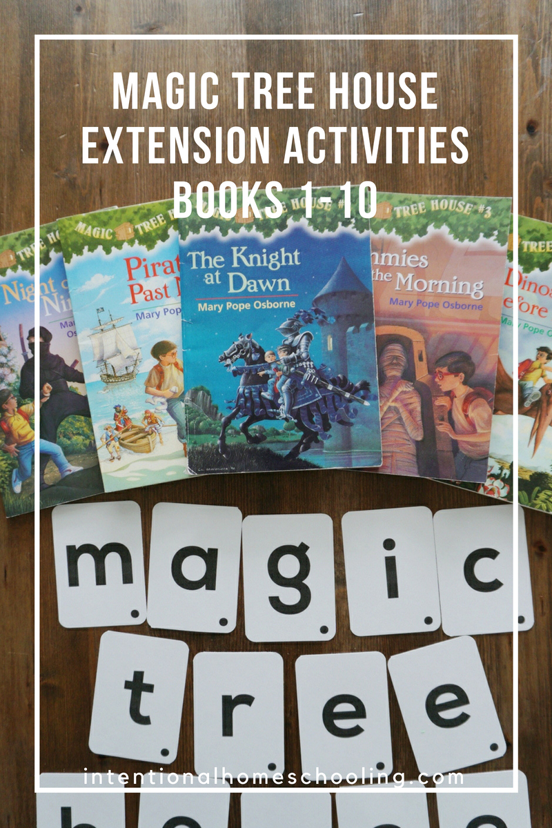 Magic Tree House Extension Activities for Books 1-10