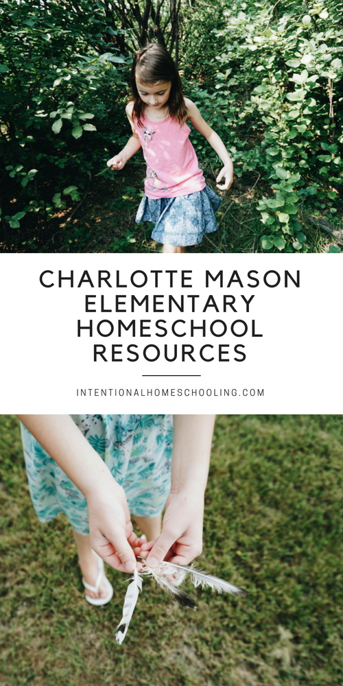 Charlotte Mason elementary homeschool resources we are using in our homeschool year
