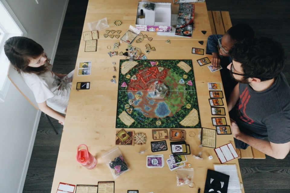 Castle Panic - our favorite family board games
