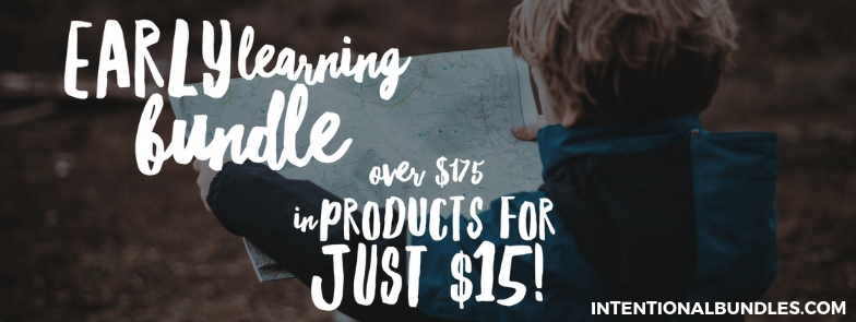 Early Learning Bundle - great deal for products for preschool and kindergarten