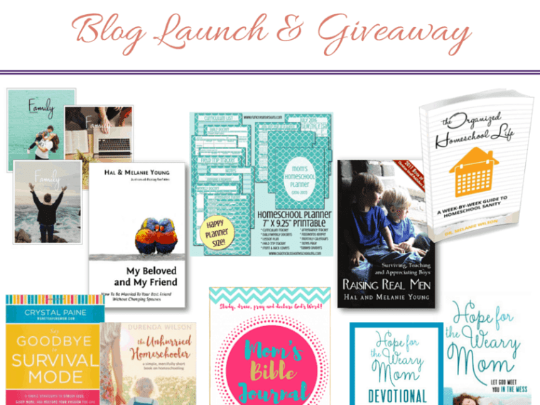 Enter to win some awesome prizes in the Intentional In Life Blog Launch Giveaway