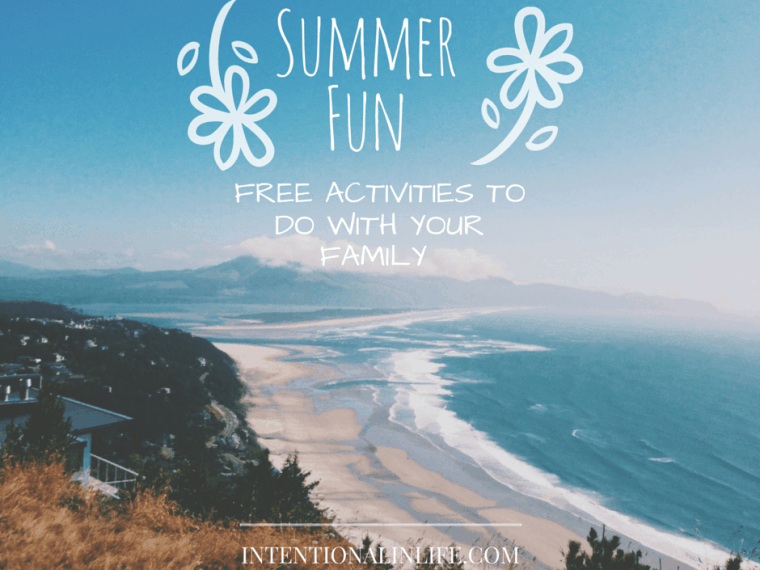 Summer Fun - Free Activities to do with your family
