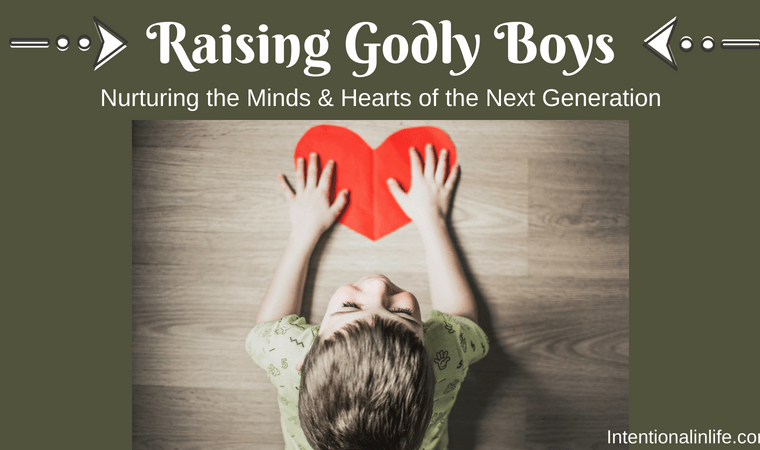 Are you looking for encouragements, tips, and resources for raising godly boys into godly men? Look no further! Come join 25+ bloggers as we discuss important topics that affect us boy moms when raising our boys to become the godly men the Lord calls them to be.