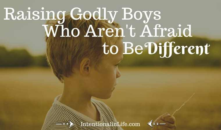 Going against the grain is social suicide in some cases and yet, this willingness to be different is exactly what God calls us to as believers.