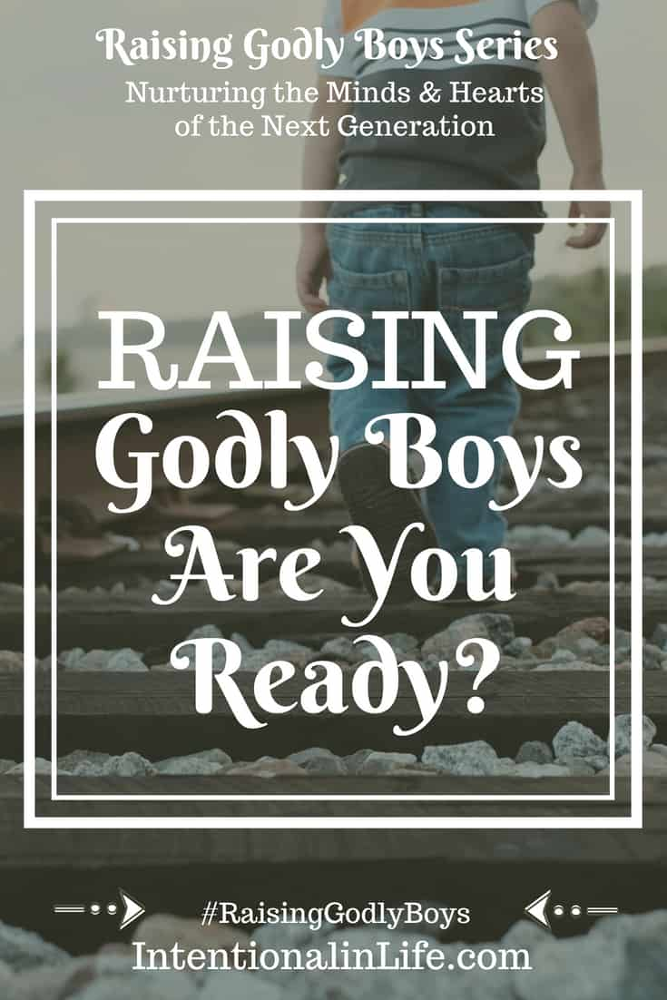 Are you ready to raise Godly boys? Have you ever felt being a mother is like experiencing the heart of God? I have felt like that so many times, from the moment I saw my little one's innocent face.
