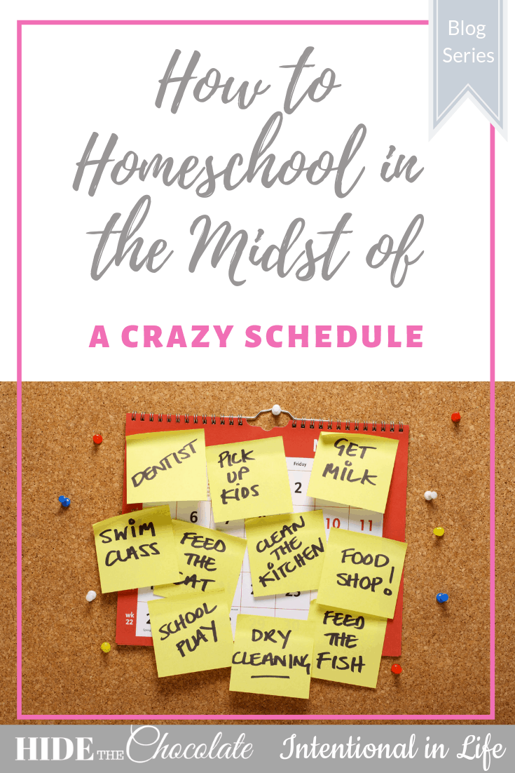 Have a crazy schedule while you are trying to homeschool? Wondering how you can do it all? Here are 10 tips to help you manage your crazy schedule.