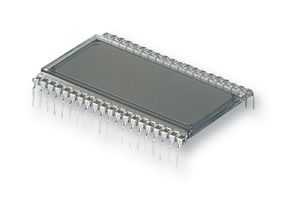 Οθονη LCD 3.5 ψηφιων , VI302-DPRC - 7 Segment LCD Display, 3.5, 3-1/2 x 1, 12.7 mm, Reflective