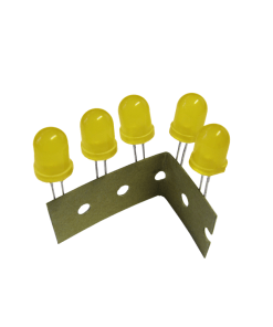 LED Ø 8mm yellow approx. 5 pieces