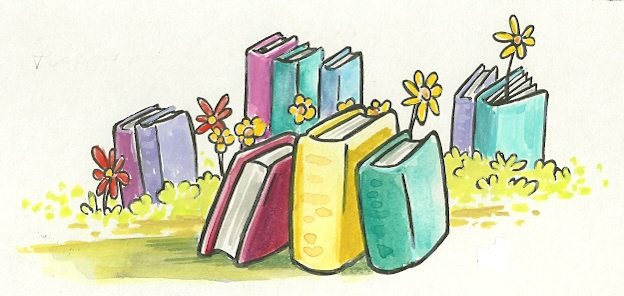 Resultado de imagem para jardim de livros
