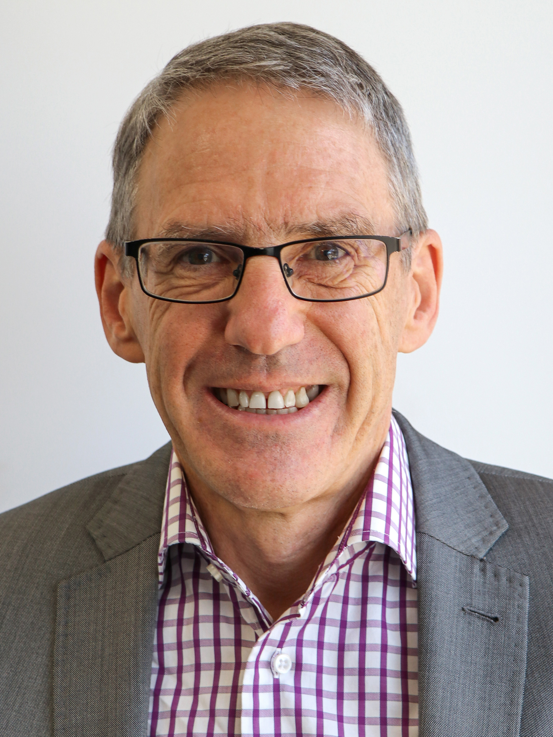 Portrait Of Kevin Neville, Board Member At Interact Australia