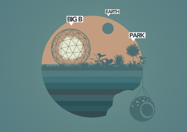 Re-earth: Big-B as an extension to the park