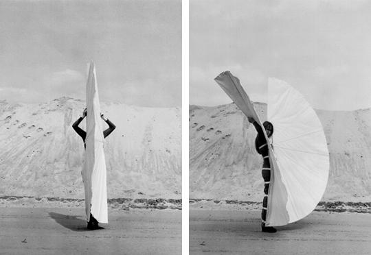 The White Body Fan - Rebecca Horn 1973