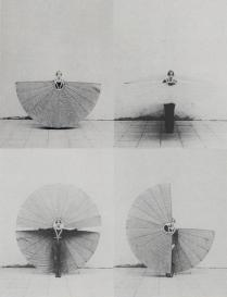 Figure 23 The White Body Fan by Rebecca Horn, 1972