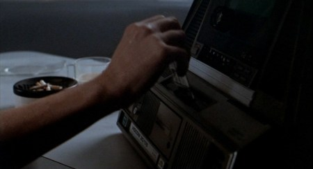 Figure 17. The phone interface in Aliens