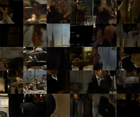 Fig. 17 Marouda, Hattab and Iyengar, (2017) sample of generated images from the movie the Godfather II