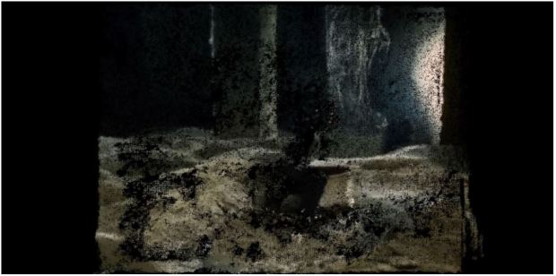 "Fig .15 Photogrammetry of the scene from""Stalker"""