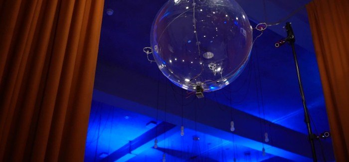Can humans perceive autonomous balloons as intentional beings
