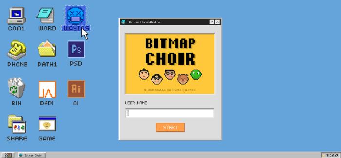 Bitmap Choir – Work in Progress Report