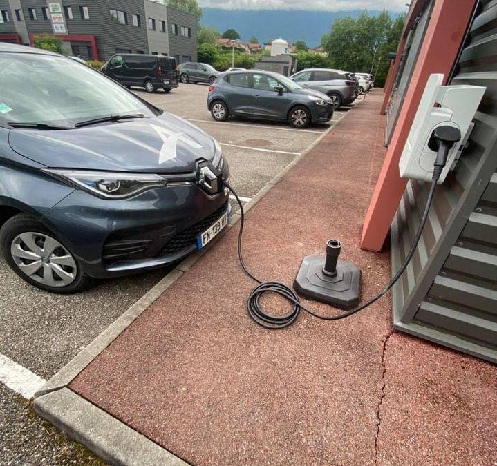 Electricité – Installation borne de recharge véhicules électriques à Méry en Savoie