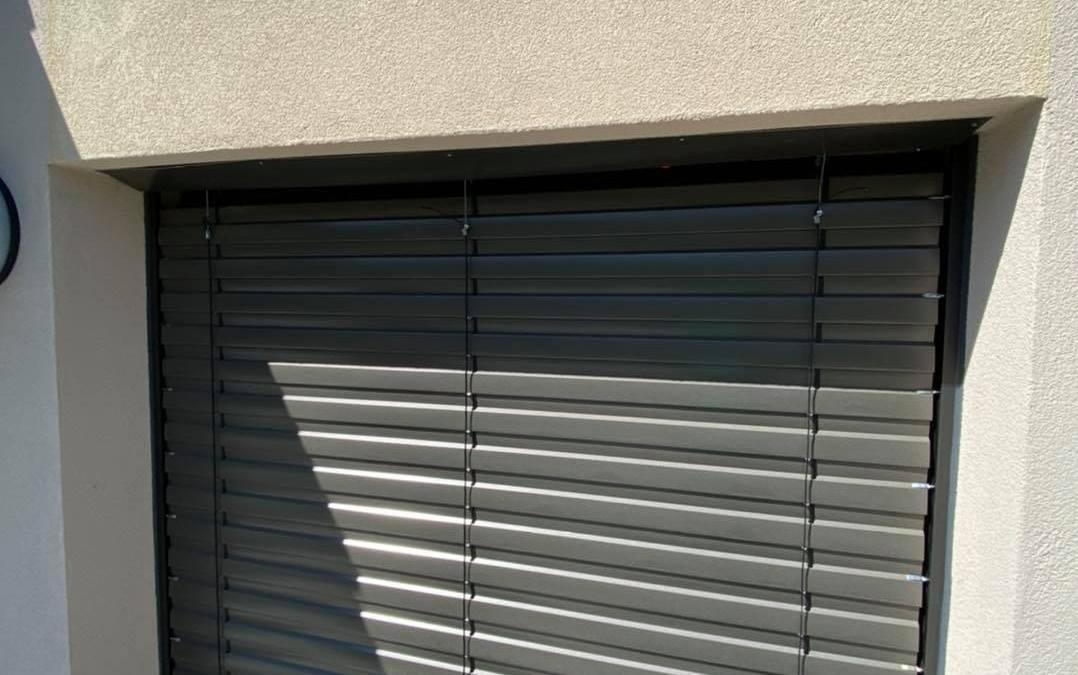 Électricité – Pose BSO avec boitier de centralisation à Aix les bains en Savoie