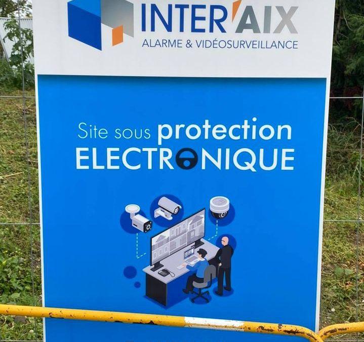 Protection de chantier à Chavanod en Haute-Savoie