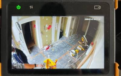 Configuration de caméras et avancement baies de brassage informatique – Grésy-sur-Aix