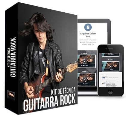 curso ozielzinho kit de tecnica para guitarra rock