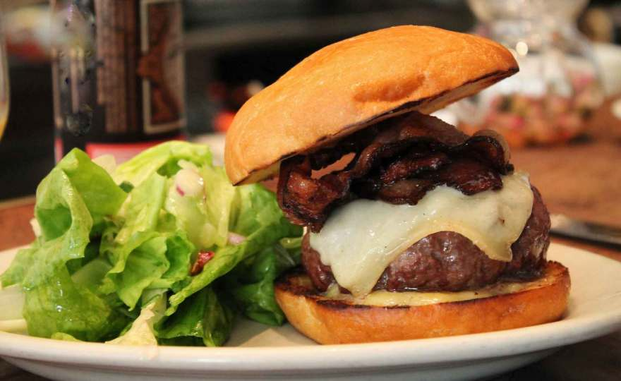 Photo of Burger at Coffee Shop for sale the heart of Brisbane's CBD by Interbiz Business Brokers