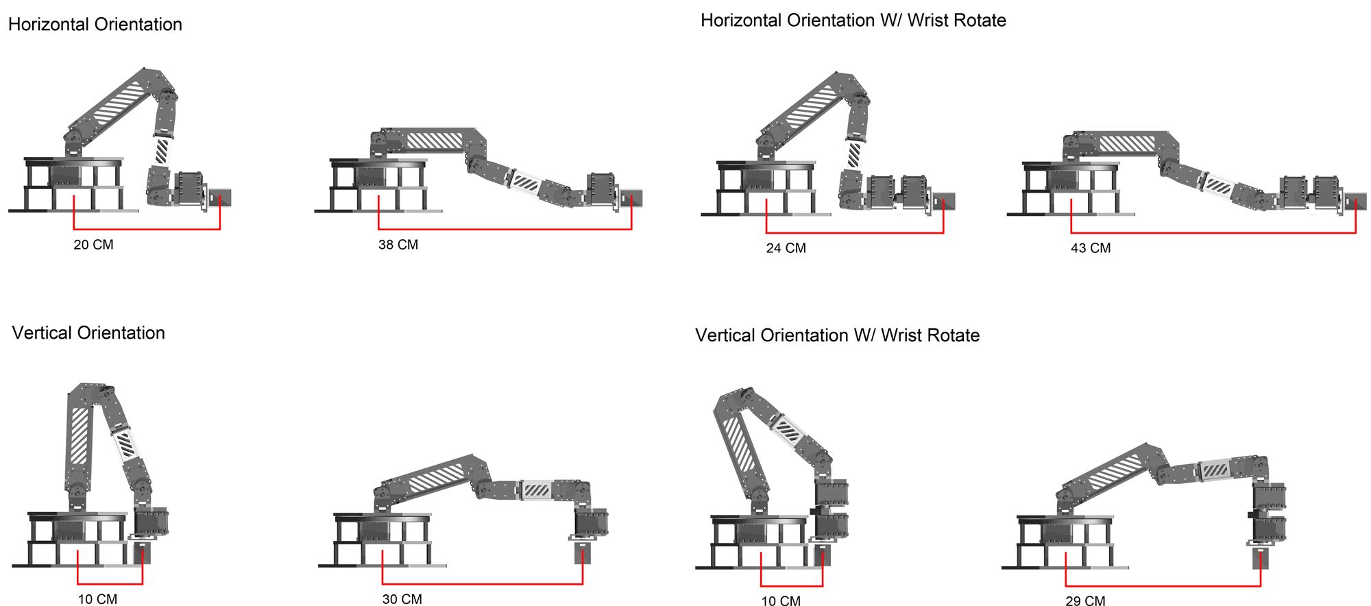 Phantomx Ax 12 Reactor Robot Arm